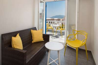 Accommodation in Superior Room - Santorini Rooms