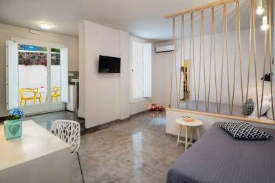 Accommodation in Cozy Apartments - Santorini Apartments